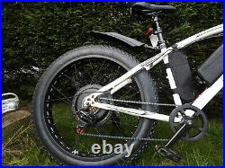 1000w 48v FAT WHEELED e-Bike Electric BIKE Hydraulic Brakes FAST