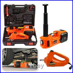 12V 5 Ton Car Electric Hydraulic Floor Jack with Impact Wrench Workshop Garage
