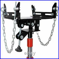 1300lbs Hydraulic High Lift Transmission Jack Hoist Gearbox Repairing Tool