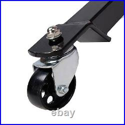 1660lbs 0.75Ton Transmission Jack 2 Stage Hydraulic with 360° for car auto lift