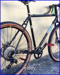 2019 Soma Wolverine V 3.0 Gravel Bike Frame 60cm Large 650B 29er Belt Drive Disc