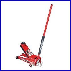 2 Ton Low Profile Floor Jack HEAVY DUTY STEEL Rapid Lift Pump Hydraulic Car Shop
