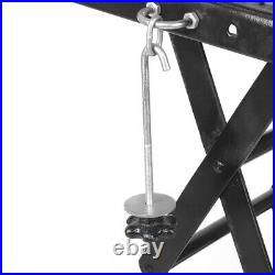 300LB Motorcycle Scissor Lift Hydraulic Bike ATV Repair Hoist Floor Stand