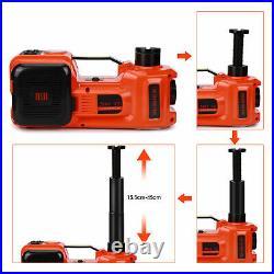 5T Heavy Duty 12V Car Electric Hydraulic-Jack Garage Tire Repair Tool Lifting UK