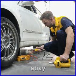 5 T Ton Car Hydraulic Electric Jacks Floor Lifting Impact Wrench Emergency Tool