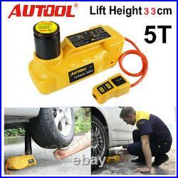 5 Ton Auto Electric Hydraulic Jacks Lifting Tire Change Car SUV Repair Tool 12V