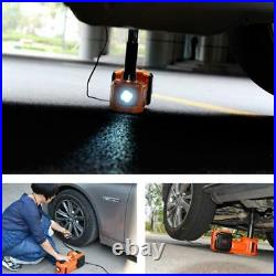 5 Ton Electric Hydraulic Jack Car Truck SUV Floor Jack Lifting Tool Portable 12V
