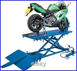 680Kg Pneumatic/Hydraulic Motorcycle/Atv Small Garden Machinery Lift Draper