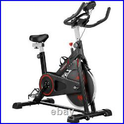 6Kg Exercise Home Fitness Bike Sports Training Monitor Cardio Bicycle Cycling UK