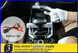 6T Car Jack Hydraulic Electric Floor Jacks 12V DC Lifting Portable Tire Repair