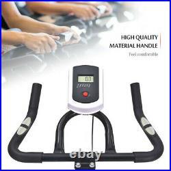 Black Exercise Bike Home Gym Training Bicycle Fitness Cardio Workout Machine
