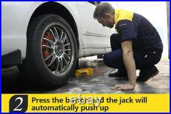 Car Hydraulic Electric Jack Car Lifting Floor Jacks 6T 12V SUV Truck Portable