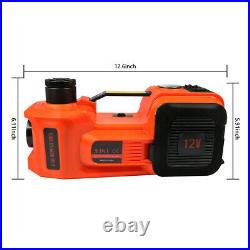 Car SUV 5Ton Electric Hydraulic Jack Floor Lift with Impact Wrench Inflator Pump