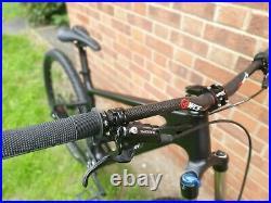 Custom Built Carbon Mountain Bike 29er Black Xt 1x11 Hydraulic Brakes Tubeless