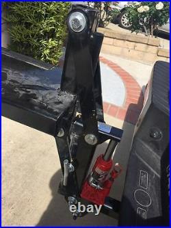Dirt Bike Hitch Carrier Hydraulic Jack Hauler