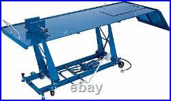 Draper 450kg Pneumatic/Hydraulic Motorcycle Lift Heavy Duty Steel Workshop Tool