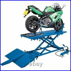 Draper 680kg Pneumatic/Hydraulic Motorcycle/Atv Small Garden Machinery Lift
