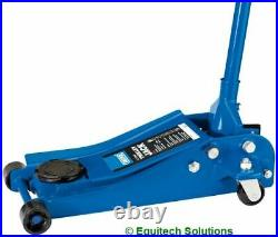 Draper Tools 01811 Low Profile Entry Trolley Jack 2.5 Tonne 88mm Clearance