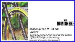 EXotic Disc Specific Rigid Carbon Mountain Bike Fork, 29er 650b 26in MTB Wheel
