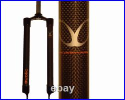 EXotic Rigid Carbon Mountain Bike Fork, IS Disc, Choose Length for Wheel Size