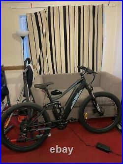 Ebike mountain bike New 2021 48V500W hydraulic break full suspension 07778888286
