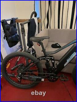 Ebike mountain bike New 2021 48V 500W hydraulic break full suspension long range