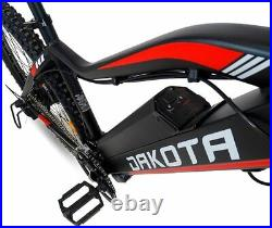 Electric Mountain Bike Lithium Battery 48V 17.5Ah (840Wh) 350W Hydraulic Brakes
