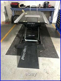 Electro Hydraulic Motorbike / Bike Lift 500kg ProBike New