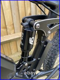 Full suspension Ladies mountain e bike Electric Hydraulic Brakes 27.5