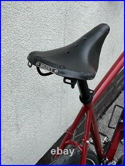Gravel adventure bicycle Genesis croix 58 Cm hydraulic 105 disc Reynolds Steel