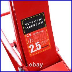 Heavy Duty Low Profile Trolley Jack Garage Ultra High Lift Car Vehicle Racing UK