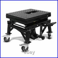 Heavy Duty Motorbike Lifter Hydraulic Scissor Motor Bike ATV Lift Floor Stand