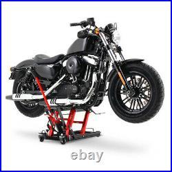 Hot Sale Motorcycle ATV Jack Lift 1500Lb Bike Stand Garage Repair Red New