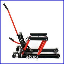 Hydraulic Motorcycle Lift Motorbike Scissor Lift Table Platform Stand Robust