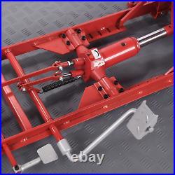 Hydraulic Motorcycle Mechanics Garage Workshop Lift Table Bench Heavy Duty