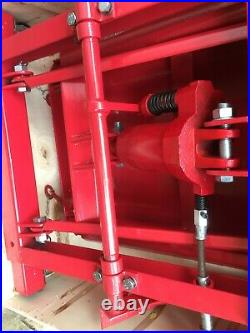 Hydraulic Motorcycle Motorbike Lift Ramp Bench 365Kg Capacity 800lb
