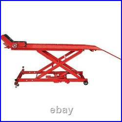 Hydraulic Motorcycle Motorbike Workshop Lift Table 450kg Ce Approved
