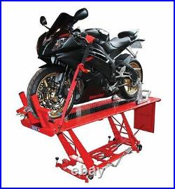 Hydraulic Motorcycle Workshop Table Lift Large Size Work Bench Heavy Duty BMW