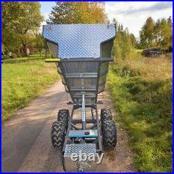 Kellfri ATV/Quad Bike Hydraulic Tipping Trailer Price Includes VAT