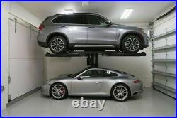 Lift Giant 2700kg 240v Single Post Car Parking Lift Showcase Stacking Lift