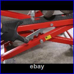 MC4500 Sealey Motorcycle & Quad Scissor Lift 500kg Capacity Hydraulic