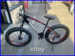Mammoth Fat Tyre MTB BIke / Mountain bike 21 Speed Alloy Frame Hydraulic Brakes