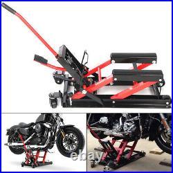 Motorbike Bike Quad Dirt Motorcycle ATV Jack Lift Hoist 1500LB Hydraulic Lifter