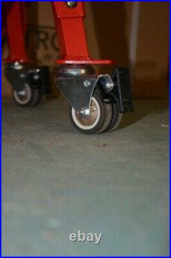 Motorcycle Hydraulic Scissor Lift Stand Motocross Workshop Garage Motorbike