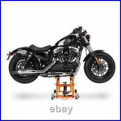 Motorcycle Jack Scissor Hydraulic Lift ConStands XL orange incl. 4 rubber blocks