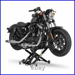 Motorcycle jack scissor lift XL for Harley Davidson Dyna Fat Bob paddock stand