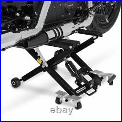Motorcycle lift ConStands Mid-Lift XL hydraulic jack paddock stand workshop