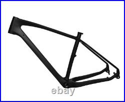 New 17.5 Carbon Fat Bike Frame Snow Thru Axle 197 12mm MTB UD Matt 4.8 26er