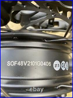 New 48V 16ah Electric Mountain Bike Ebike Full Suspension Hydraulic Brakes 27.5
