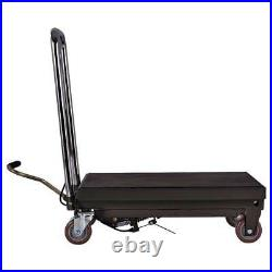 New 500kg Capacity Wheeled Hydraulic Scissor Lift Workshop Garage Bench Table